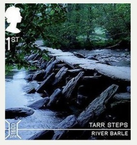Tarr steps Stamp