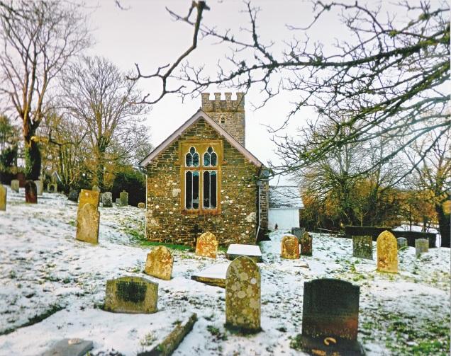 Landscape category 'Oare church in the snow' taken by Madeline Taylor.