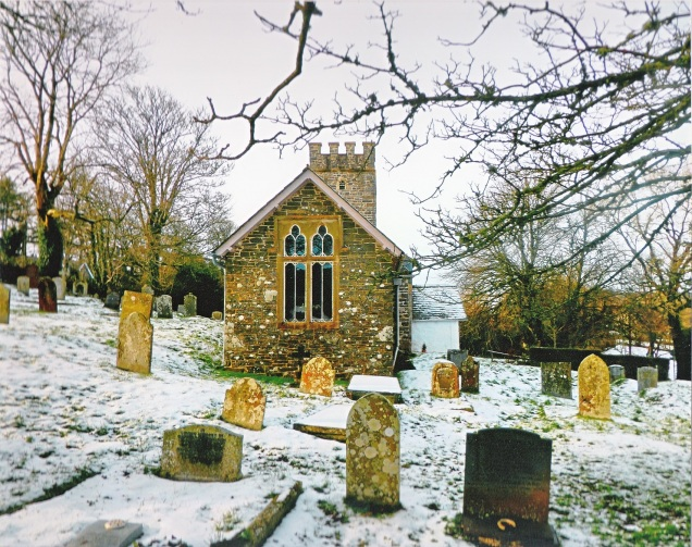 Landscape category 'Oare church in the snow' taken by Madeline Taylor.