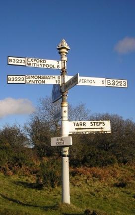 Signpost_Spire Cross